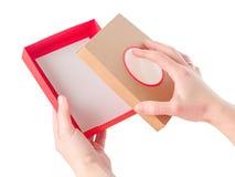 Jaskrawy barwiący pudełka dla prezentów Zdjęcie Stock