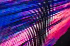 Jaskrawy barwiony światło PROWADZĄCY smd ekran obrazy royalty free