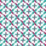 Jaskrawy barwiony abstrakcjonistyczny bezszwowy wzór na białego tła jakościowej wektorowej ilustraci dla twój projekta Obrazy Royalty Free