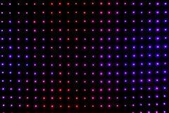 Jaskrawy barwiony DOWODZONY smd ekran - zamyka w górę abstrakcjonistycznego tła zdjęcie royalty free