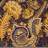 Jaskrawy bezszwowy wzór w Paisley stylu kolorowe tło Obrazy Royalty Free