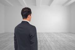 Jaskrawy biały pokój zdjęcie stock