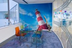 Jaskrawy & Colourful pokój konferencyjny Zdjęcia Stock