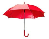 jaskrawy czerwony parasol Obraz Royalty Free