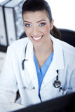 jaskrawy doktorski uśmiech Obrazy Stock
