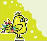 Jaskrawy dziecko ptak Zdjęcia Royalty Free