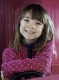 jaskrawy dziewczyny małego portreta ładny smil obrazy stock