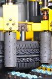 jaskrawy fabryczna nowa testowana opona Zdjęcia Royalty Free