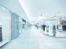 Jaskrawy i czysty centrum handlowe Fotografia Stock