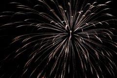Jaskrawy i kolorowy fajerwerku świętowanie fotografia royalty free