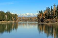 Jaskrawy jesień krajobraz Obrazy Stock