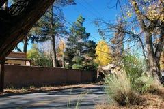 Jaskrawy jesieni popołudnie Zdjęcia Stock