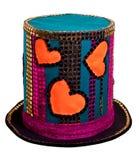 jaskrawy kapelusz Obrazy Stock
