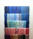 jaskrawy kolekci barwioni szyi krawaty Zdjęcia Royalty Free