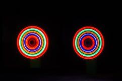 Jaskrawy kolor Freezelight Zdjęcia Stock