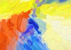 Jaskrawy kolorowy abstrakcjonistyczny tło z punktu wzorem Zdjęcie Royalty Free