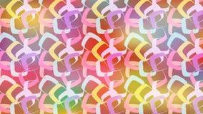 Jaskrawy kolorowy kwadrata wzór dla rozochoconych i świątecznych projektów ilustracja wektor