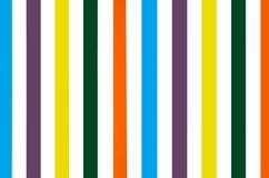 Jaskrawy kolorowy pasiasty ścienny tło Zdjęcia Stock
