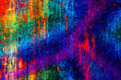 Jaskrawy kolorowy unikalny abstrakcjonistyczny tło Zdjęcia Royalty Free