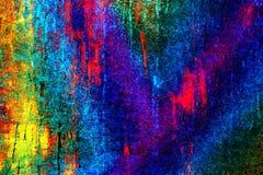 Jaskrawy kolorowy unikalny abstrakcjonistyczny tło Zdjęcie Stock