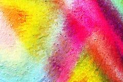 Jaskrawy kolorowy unikalny abstrakcjonistyczny tło Obraz Royalty Free