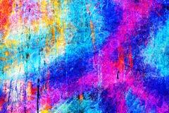 Jaskrawy kolorowy unikalny abstrakcjonistyczny tło Obrazy Stock