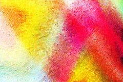 Jaskrawy kolorowy unikalny abstrakcjonistyczny tło Fotografia Stock