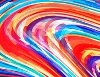 jaskrawy koloru tło Żywy wektoru wzór Zdjęcia Stock