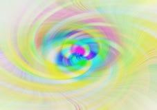 Jaskrawy koloru twirl tło - ilustracja obrazy stock