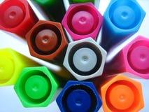 jaskrawy kolory Zdjęcie Royalty Free