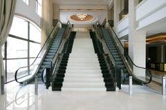 jaskrawy korytarza hotelu światło luksusowy Zdjęcia Royalty Free