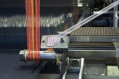 jaskrawy krosienka weave wełna Zdjęcie Stock