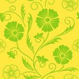 Jaskrawy kwiecisty ozdobny bezszwowy wzór. Fotografia Royalty Free