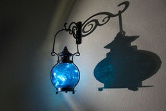 Jaskrawy lampa Fotografia Royalty Free