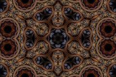 Jaskrawy mandala tło Zdjęcia Royalty Free
