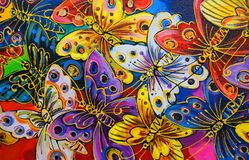 jaskrawy motyle obrazy stock