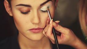 Jaskrawy oko makijażu dzień zbiory