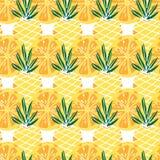 Jaskrawy owoc wzór Z cytrusów ananasami I owoc Kolorowy tło Dla Tekstylnych Lub Książkowych pokryw, produkcja, tapety zdjęcie royalty free