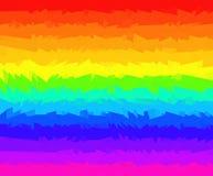 Jaskrawy pasiasty tło kolorowe linie ilustracji