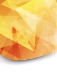 Jaskrawy pomarańczowy skoroszytowy tło szablon Fotografia Royalty Free