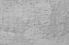 Jaskrawy Popielaty Grunge Gipsująca Ścienna Sztukateryjna tekstura, Horyzontalnego Szczegółowego Naturalnego narysu Grungy Szary  zdjęcie royalty free
