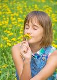 Jaskrawy portret śliczna nastoletnia dziewczyna Obraz Stock