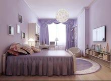 Jaskrawy Provence pokoju pomysł obraz royalty free