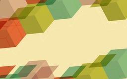 Jaskrawy Przejrzysty Gradientowy tło kolorowe światła Zdjęcia Stock
