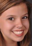 jaskrawy przyglądający się nastoletni dziewczyny szczęśliwy Obrazy Stock