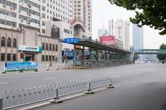 JASKRAWY przystanek autobusowy Zdjęcie Stock