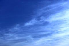 Jaskrawy ranku niebo Fotografia Royalty Free