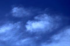 Jaskrawy ranku niebo Obraz Royalty Free