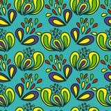 Jaskrawy, rozochocony bezszwowy wzór. Wektorowy illustration/EPS 8 Fotografia Royalty Free