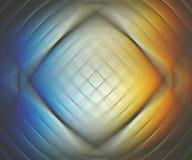 Jaskrawy słoneczny widmo odbija w szklanej płytce Fotografia Royalty Free